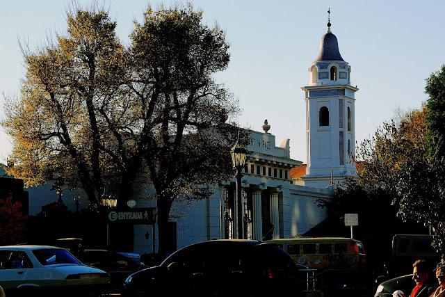 Foto campanario Iglesia Del Pilar