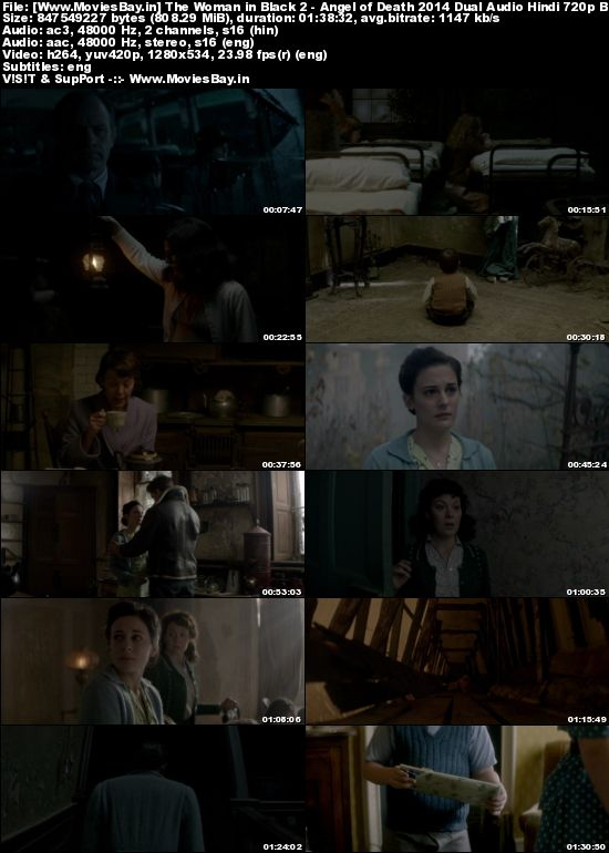 The Woman in Black 2 – Angel of Death 2014 Dual Audio Hindi 720p BluRay 800MB