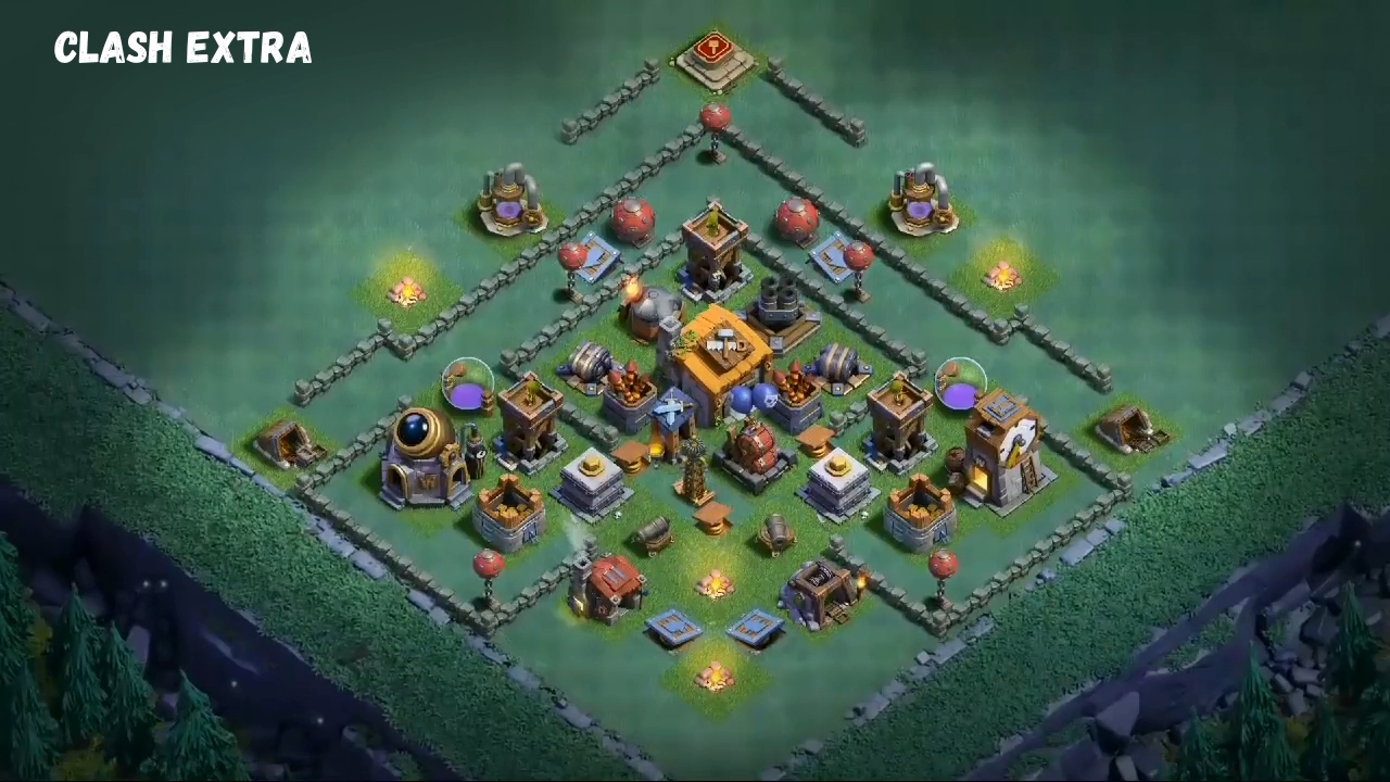 Mejor base de constructor nivel 6 clash of clans bh6 - Aldea de constructor ...