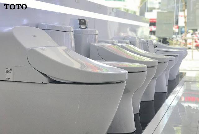 Showroom bán Thiết bị nhà vệ sinh TOTO Nhật 2019 giá cả rẻ, thật