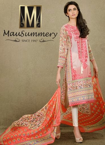 68a2abeef9 Mausummery the most famous and leading fashion brand has launched their  spring summer lawn collection 2015 for women. All the lawn dresses are  looking ...