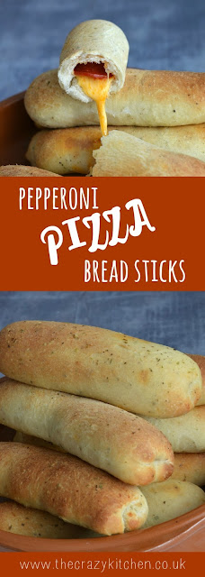 Pepperoni Pizza Bread Sticks