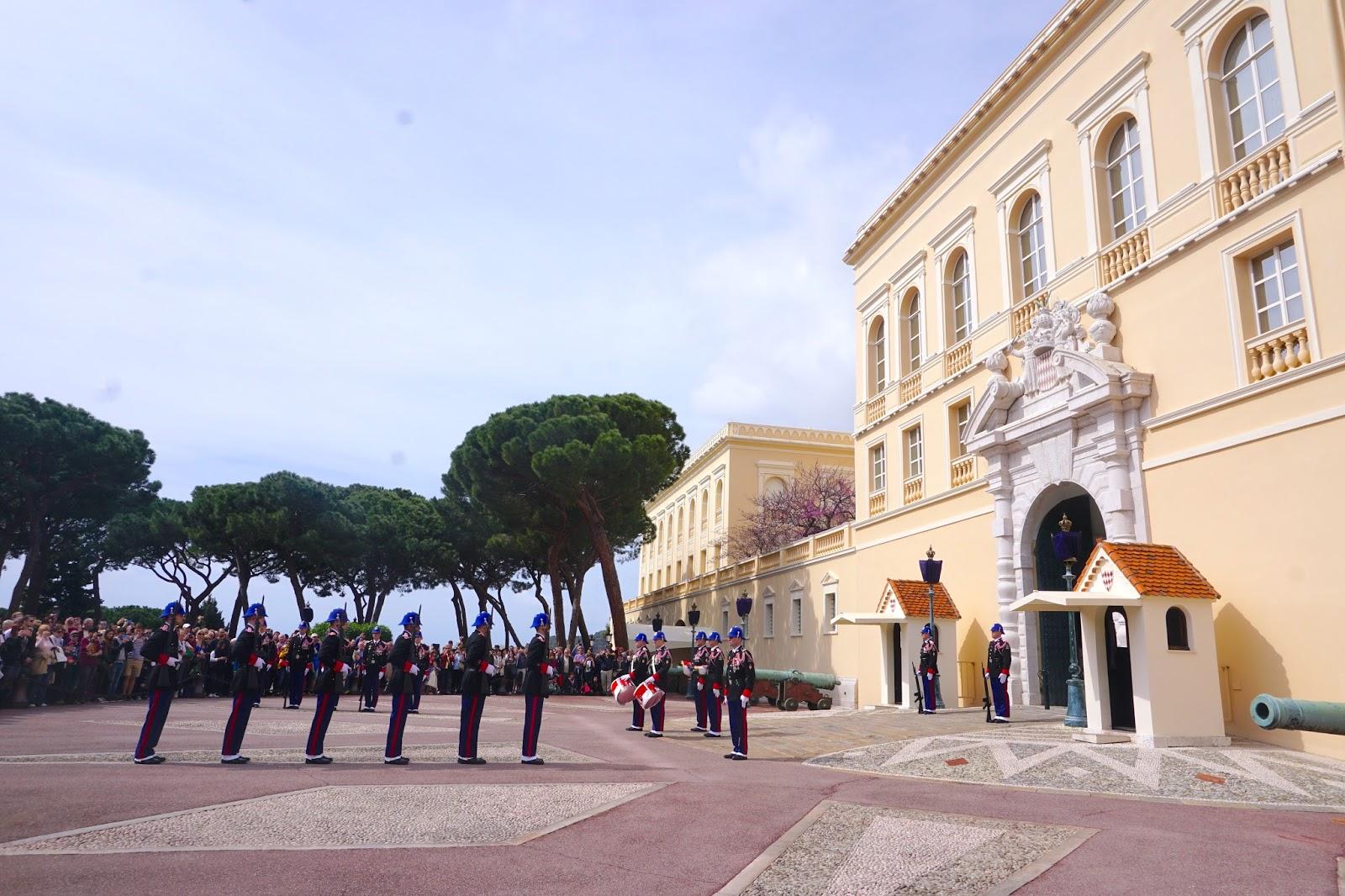 Monaco Prince's Palace of Monaco