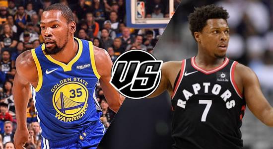 Live Streaming List: Golden State Warriors vs Toronto Raptors 2018-2019 NBA Season