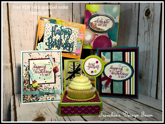 Picture Perfect Birthday, Picture Perfect Party, Stampin'Up!, Frenchie Team PDF,