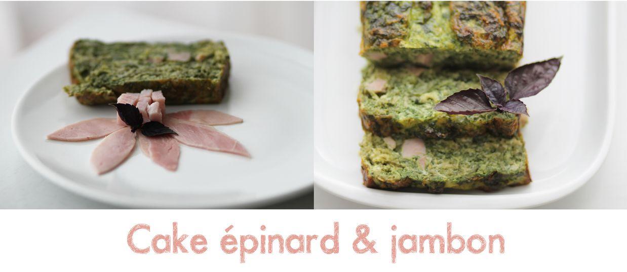 Cake  Ef Bf Bdpinard Jambon