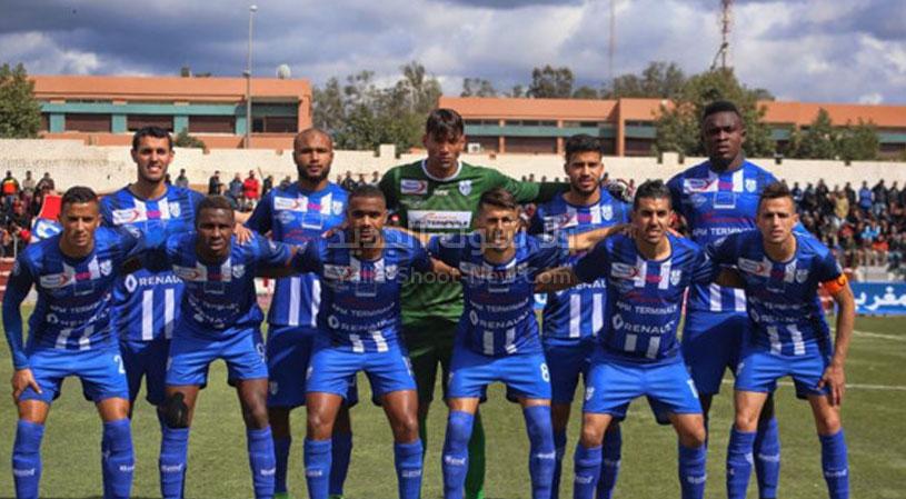 إتحاد طنجة يفرض التعادل الاجابي على الدفاع الجديدي في الدوري المغربي