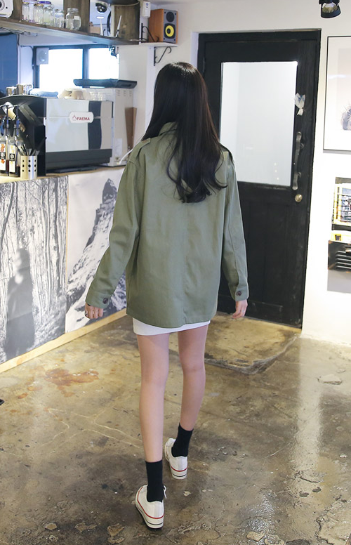 Shirt-Styled Field Jacket