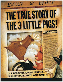 The True Story of the Three Little Pigs - 10 Books For Boys