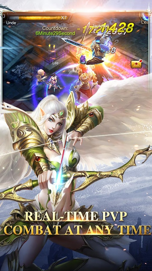 Honor Against Darkness MOD APK terbaru