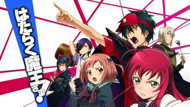 Anime Romance Comedy Terbaik Hataraku maou-sama