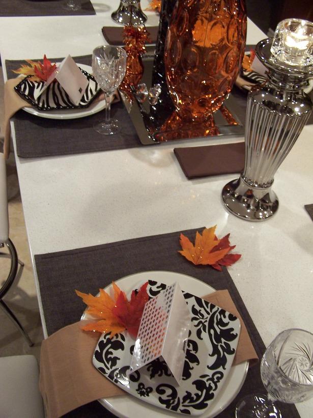 Modern furniture thanksgiving table settings decoration - Thanksgiving table decorating ideas ...