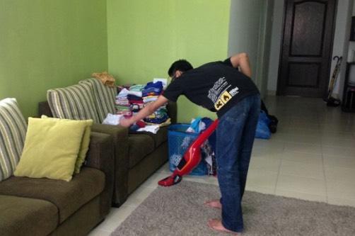 Isteri luah rasa malu pada suaminya yang suka bantunya di rumah