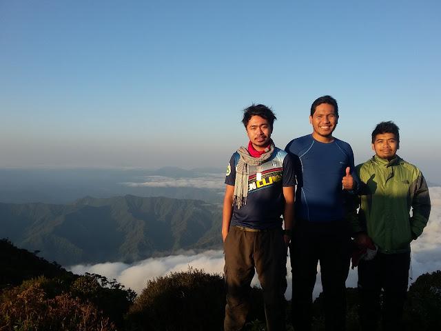 Bigote Brothers at Mt. Amuyao Summit