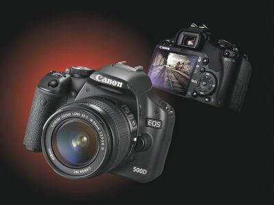 كاميرا كانون 500D