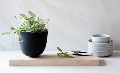 Planter and Cutting Board