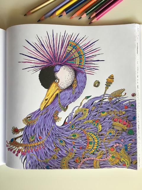 Kerby Rosanes, Imagimorphia, kolorowanka, kolorowanka antystresowa, kolorowanka dla dorosłych, kolorowanka ze zwierzętami