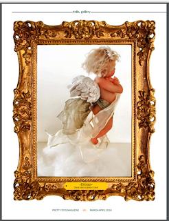 """Embrace"" Cherub by Lisa Wroblewski"
