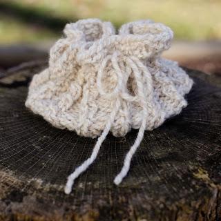 Loom Knit Ice bag, gift bag