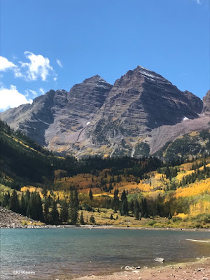 Maroon Bells, near Aspen Colorado