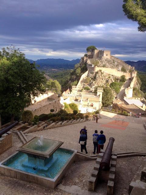 El impresionante Castillo de Xátiva