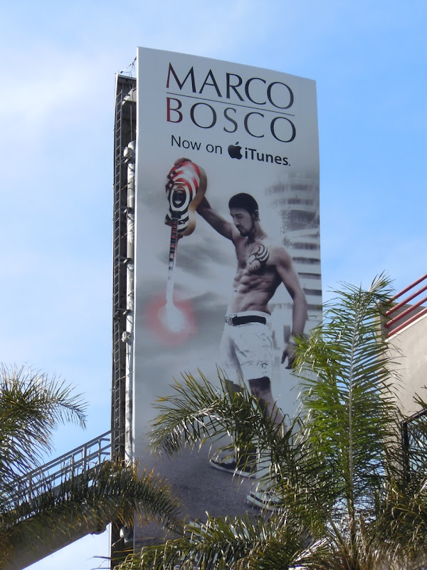 Marco Bosco itunes billboard