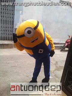 may mascot minions giá rẻ