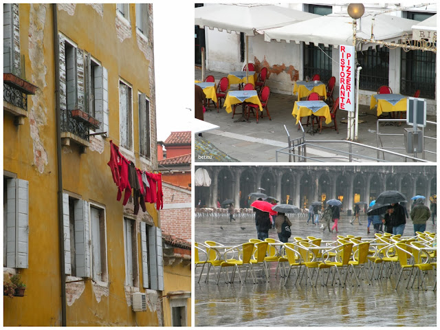 Venice in yellow with a touch of red by betitu