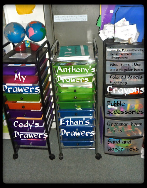 homeschool storage