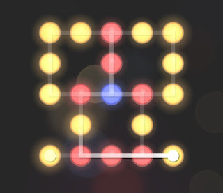 Solution, Cheats, Walkthrough for Neon Hack [Neon Dots] Level 56