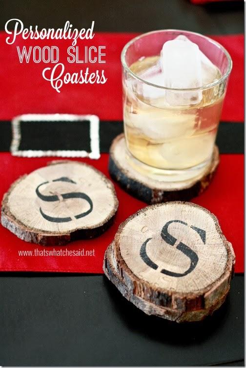 34 Wood Slice Home Décor Ideas: 52 Mantels: 34 Homemade Christmas Gifts & Treats