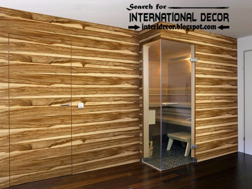 Wood Paneling Designs For Walls Contemporary Panelling Interior
