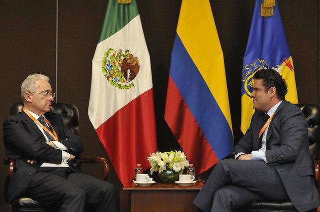 Sostiene Aristóteles encuentro con Álvaro Uribe, ex Presidente de Colombia