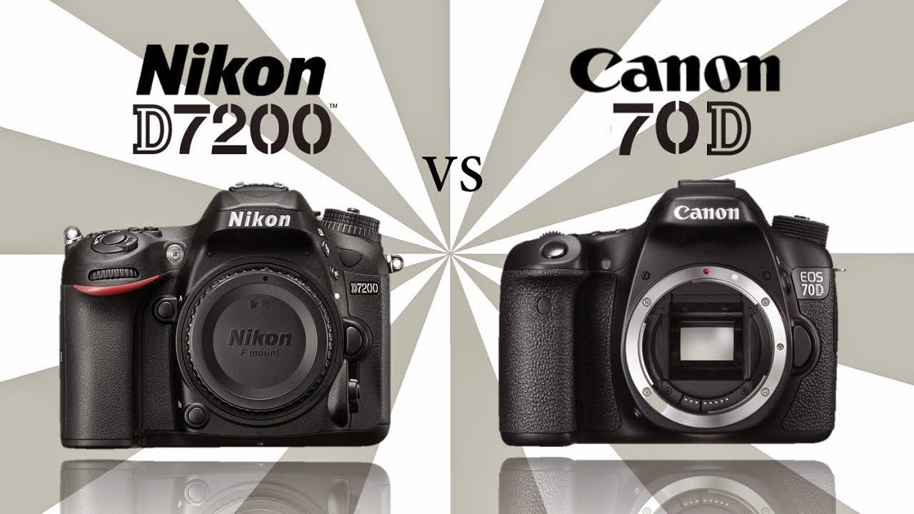 Canon EOS 70D, Nikon D7200, Canon vs Nikon, Canon EOS 70D vs Nikon D7200, Canon 70D specs, Nikon D7200 specs, Wi-Fi,