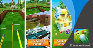 تحميل لعبة Golf Battle مهكرة للاندرويد