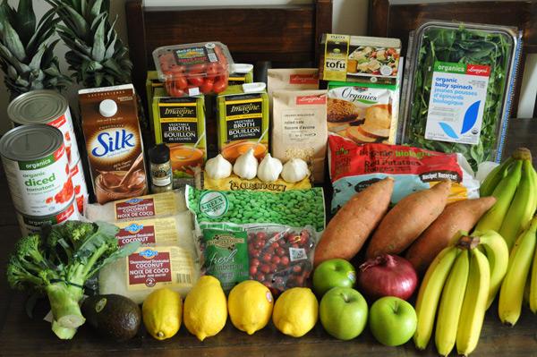 Vegan Grocery List - to help the challenge!