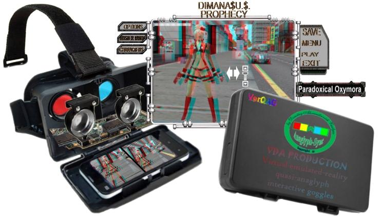 Virtual Emulated Reality imemrsive and interactive Animation