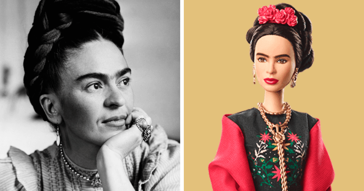 Barbie Introduces 17 New Dolls Based On Inspirational Women Such As Frida Kahlo And Amelia Earhart