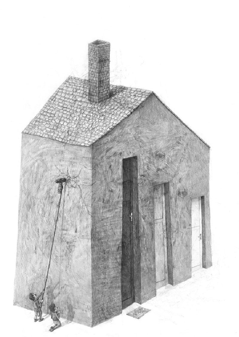 Stefan-Zsaitsits-08 Houses: Drawings by Stefan Zsaitsits Design