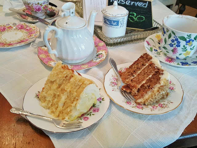 Cakestand & Crumb Tea Room cake