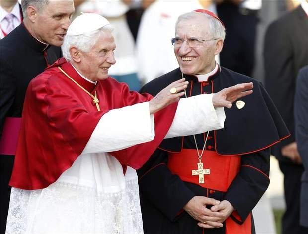 Benedico XVI y el cardenal Rouco