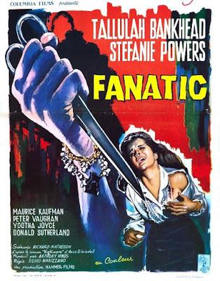 Die! Die! My Darling aka Fanatic (1965) Tallulah Bankhead, psycho-biddy, hag horror