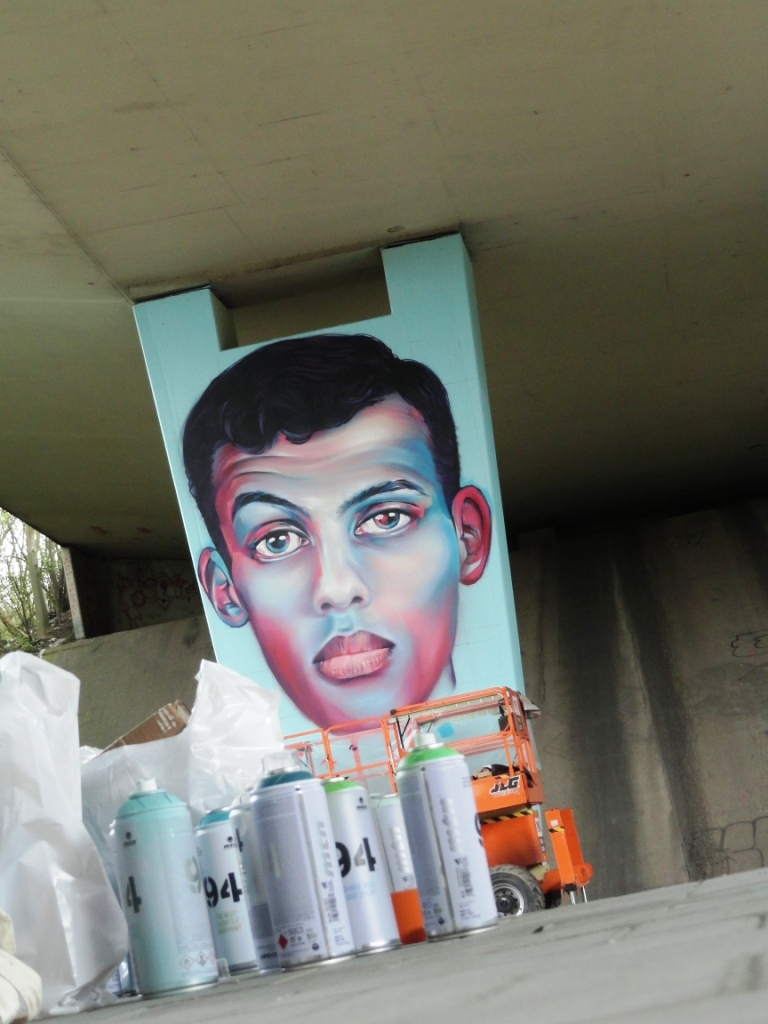 Stromae graffiti