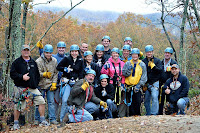 Experienced zipline guide at this outdoor attractions