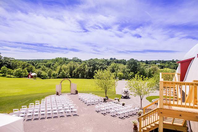 Woodsy Wedding Venues Hayloft on the Arch