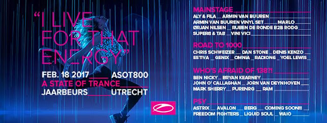 ASOT 800 Live on 1Mix Radio