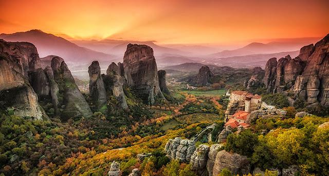 Ioanna's Notebook - Travelling around Greece: Trikala & Meteora