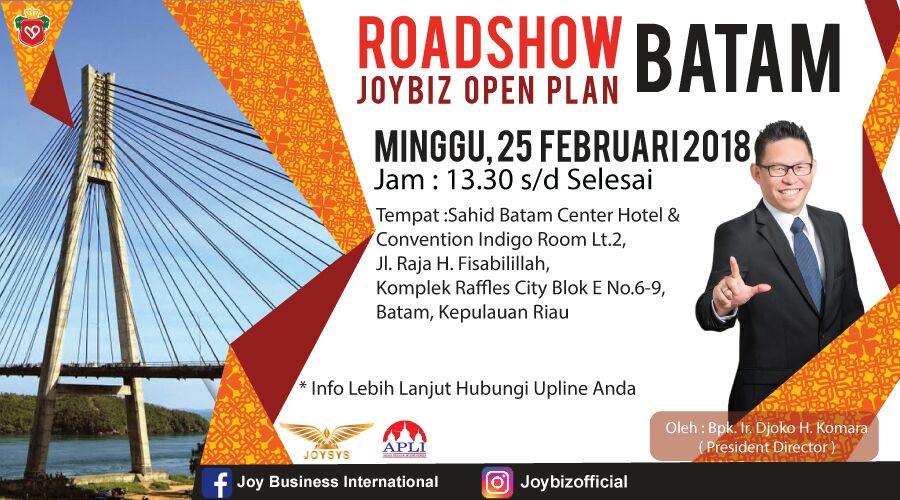 Presentasi JOP Perdana Joybiz di Kota Batam