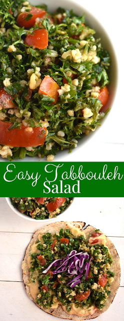 Easy healthy tabbouleh salad