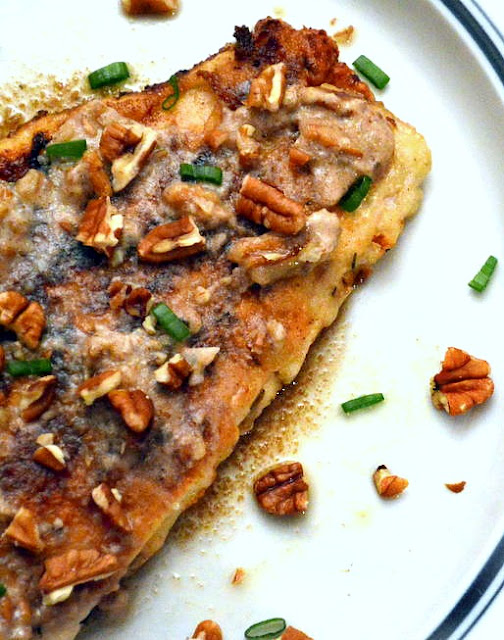 Fish with Pecan Butter